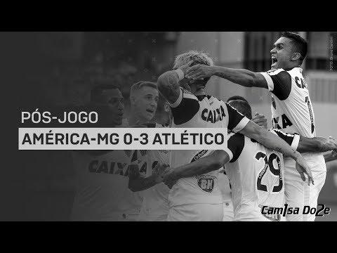 América 0x3 Atlético (Mineiro 2018) | Pós-jogo