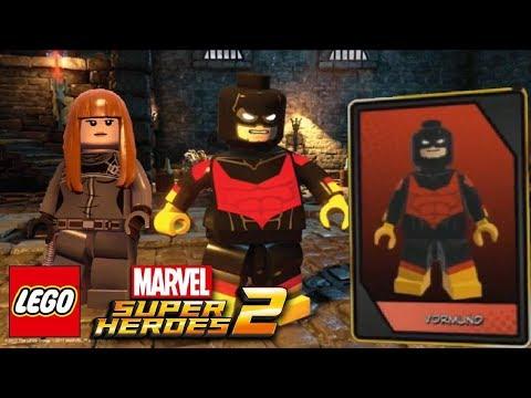 LEGO Marvel Superheroes 2 MORE NEW CHARACTERS - Quake & Surtur + ...