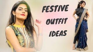 Indian Festive Outfit Ideas For Diwali & Wedding | Dhwani Bhatt
