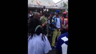 Booba et chien la ri clip en Guadeloupe