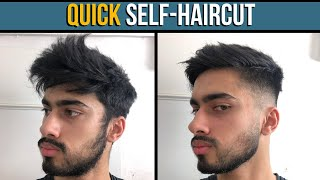 EASY HOME SELF HAIŔCUT TUTORIAL *FOR BEGINNERS* (How To Cut Your Hair At Home)