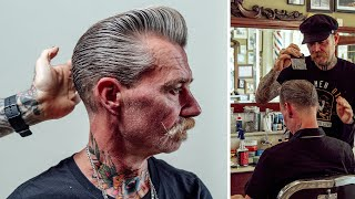 HOW TO CUT: TΗE MR. WHITE SILVER FOX POMPADOUR