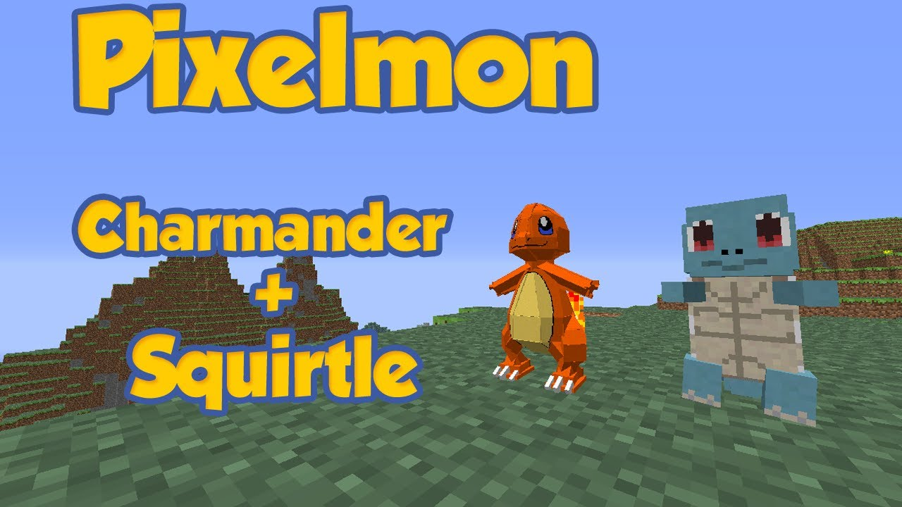 Pixelmon duel squirtle and charmander ep 20 t4l youtube - Pixelmon ep 1 charmander ...