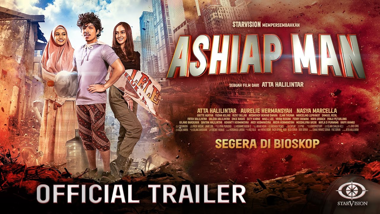 ASHIAP MAN - Official Trailer