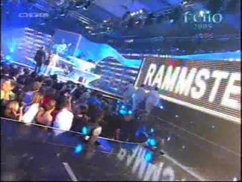 Rammstein saying danke