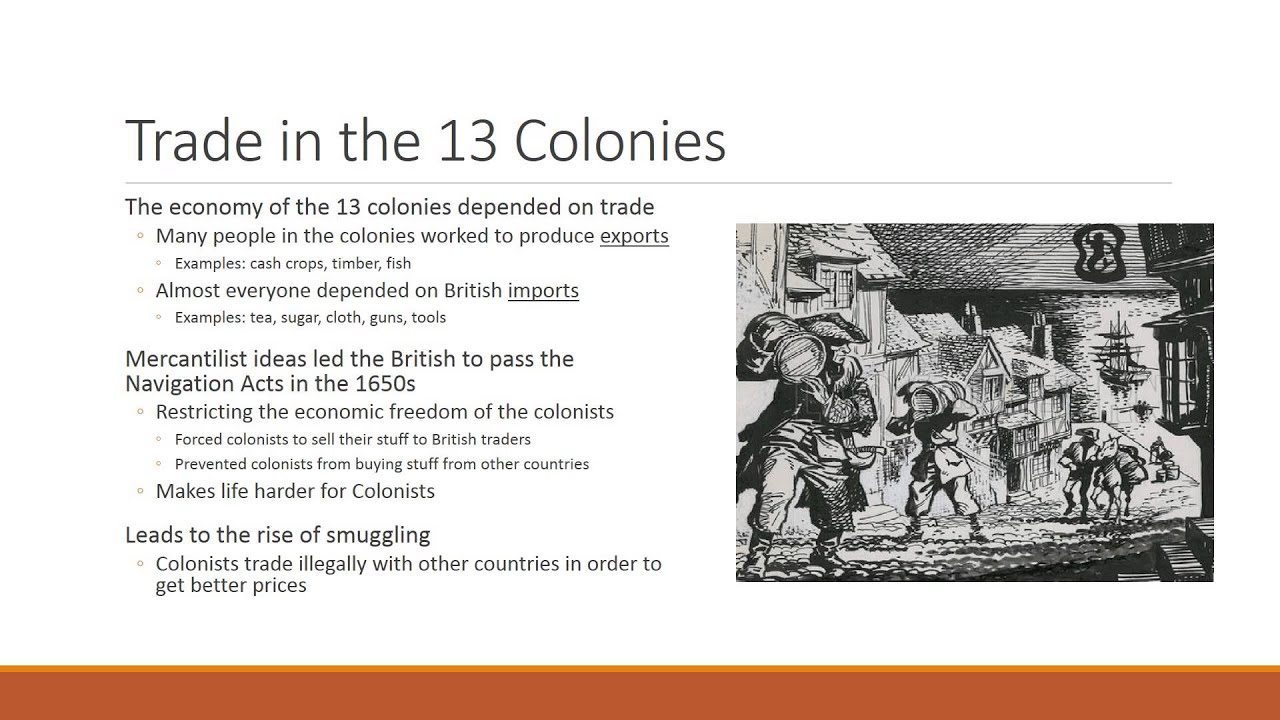 Life in the 13 American Colonies