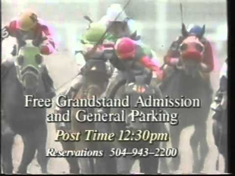 New Orleans Fair Grounds Race Course Ad, 1993
