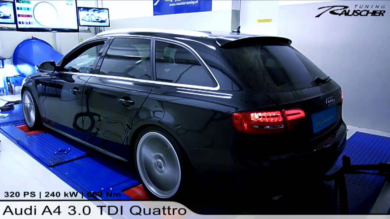 audi a4 3 0 tdi quattro by rauscher tuning youtube. Black Bedroom Furniture Sets. Home Design Ideas