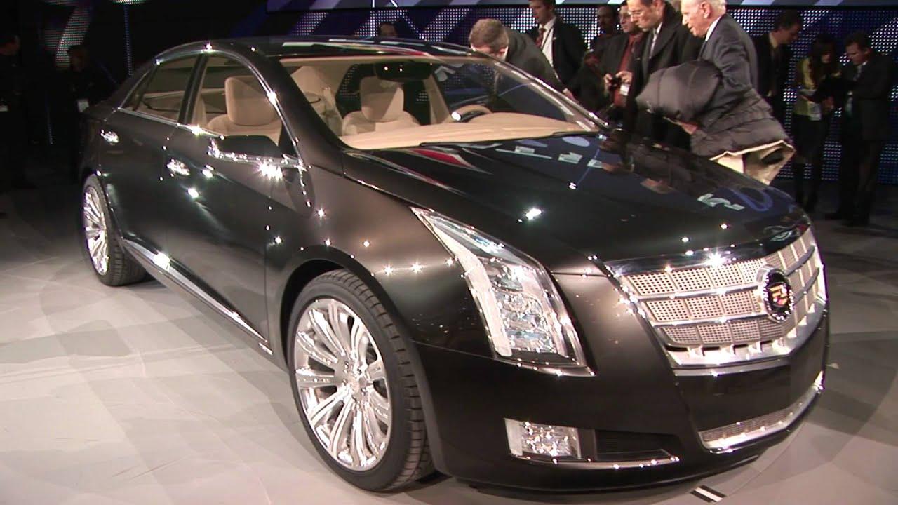 Future Cadillac Flagship Cadillac Xts Platinum Concept Motor - Motor trend car show greenville sc