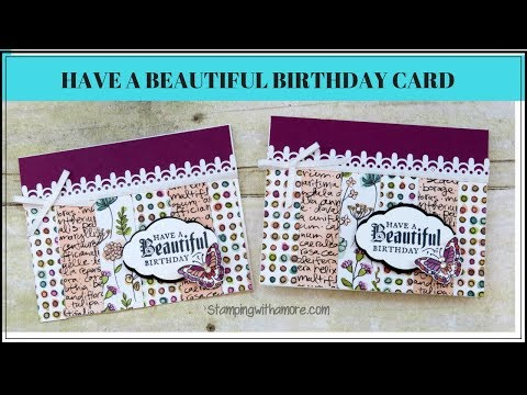 Have a Beautiful Birthday Card