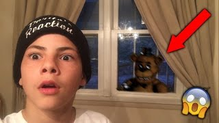 I WAS ALMOST KIDNAPPED BY FREDDY FAZBEAR! *ON CAMERA!*