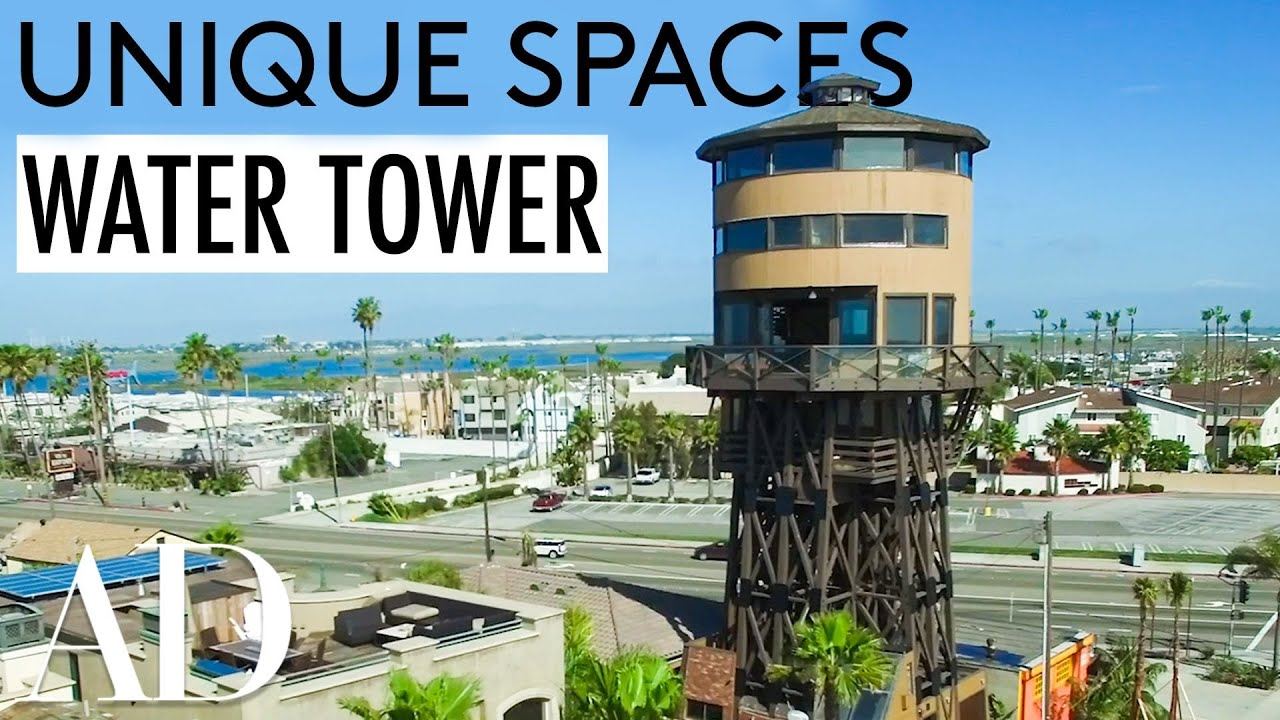 Living In A Water Tower Converted Into 3 Story Luxury Home Unique Es Architectural Digest
