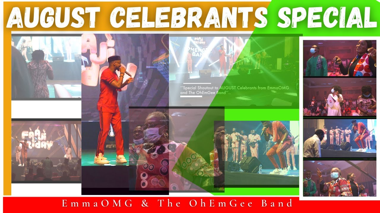 Download AUGUST CELEBRANTS Special | EmmaOMG & The OhEmGee Band