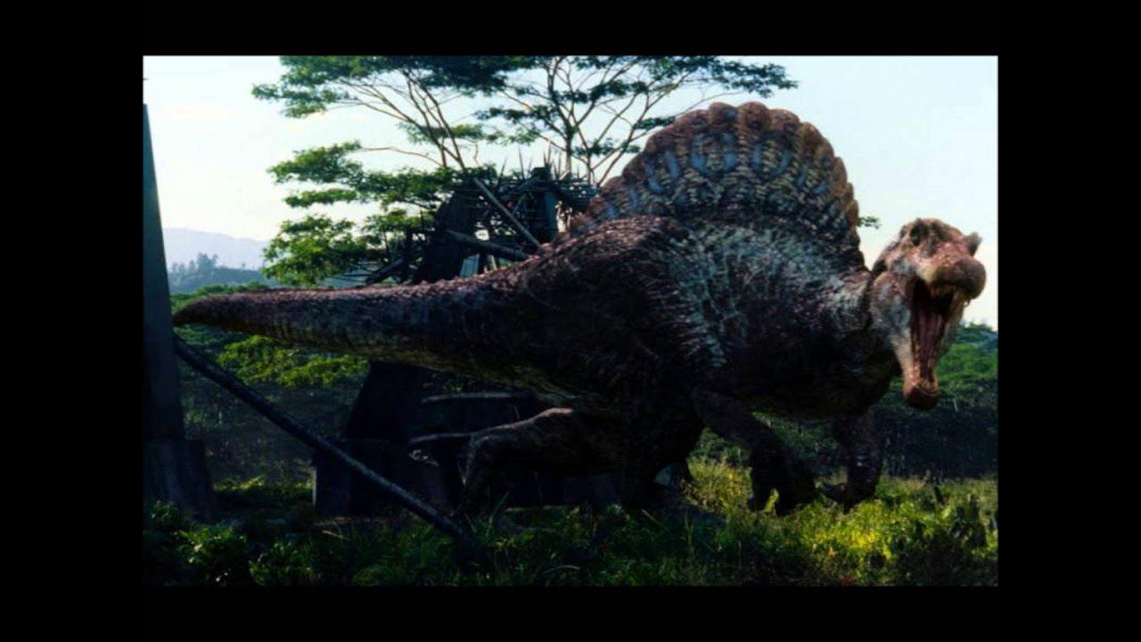 Spinosaurus roar youtube - Dinosaure marin carnivore ...
