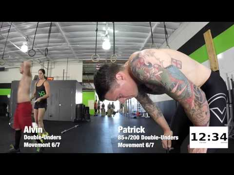 """NUTTS"" CrossFit Hero WOD [Extended] - 18:26 Rx"