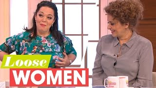 lisa riley has now completed all of her post weight loss surgery   loose women