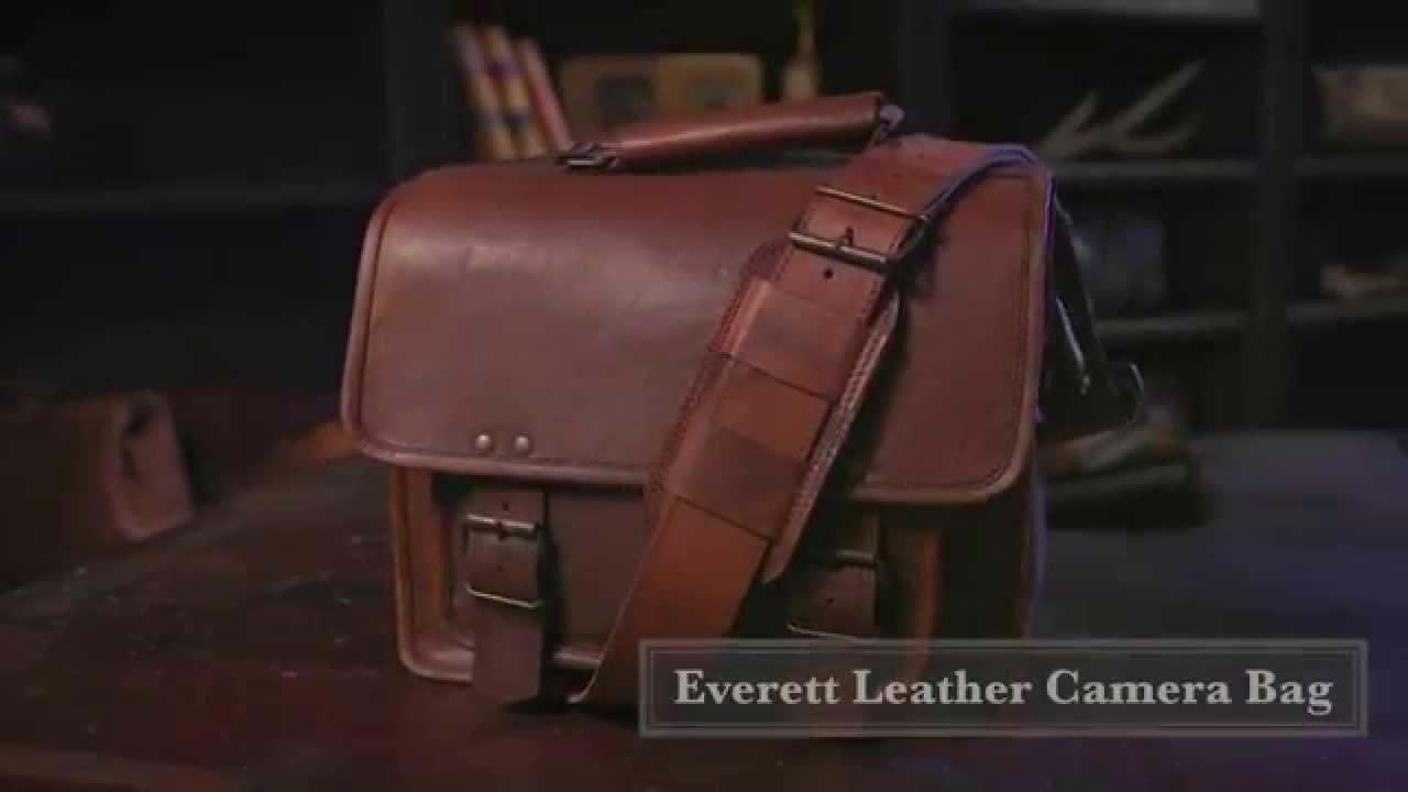 33767d355249 Vintage Leather Camera Bag by Buffalo Jackson - YouTube