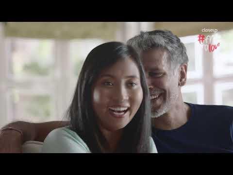 Closeup #FreeToLove | Milind Soman & Ankita Konwar