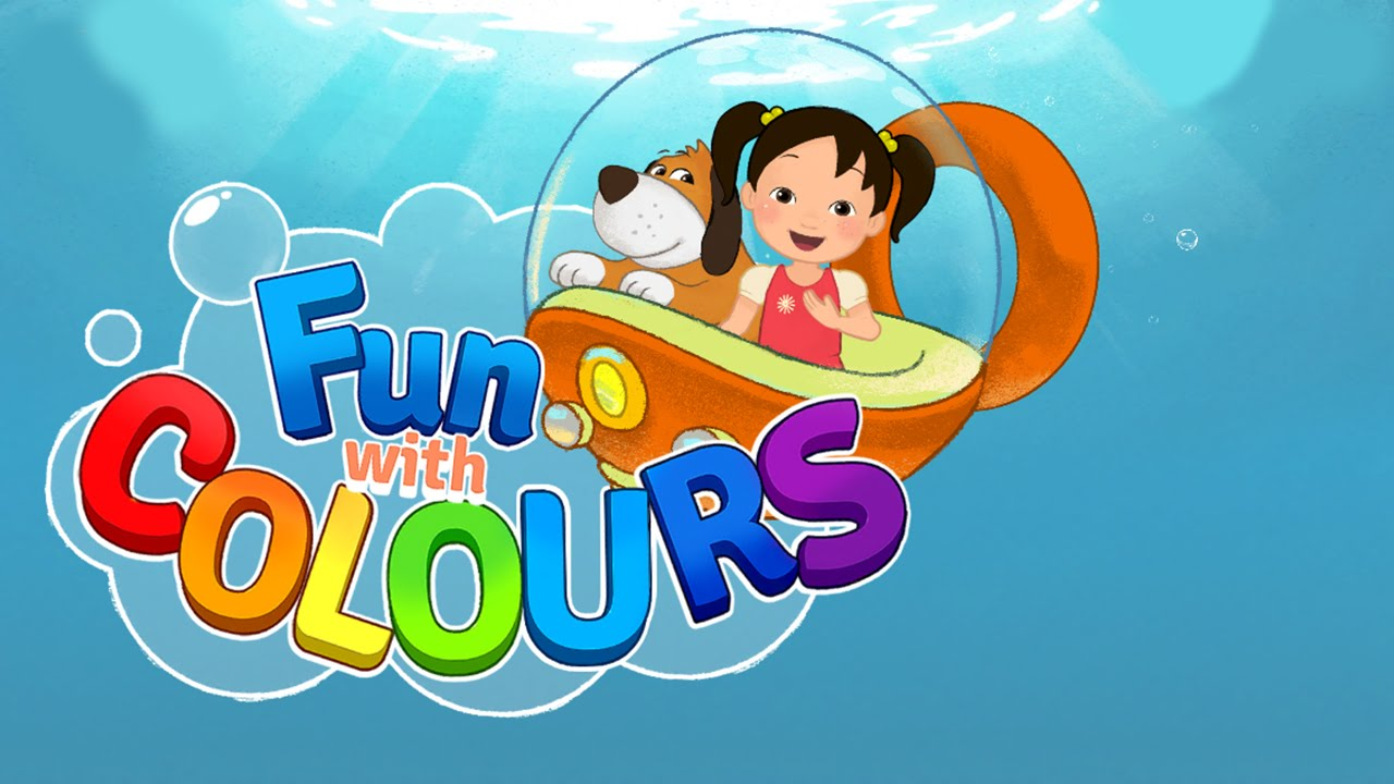 Fun with Colours (Mark Media Corp.) - Best App For Kids - YouTube