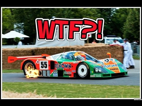 MAZDA 787B SCREAMING DOWN THE TRACK !!!  Is this worlds best souding car ever?