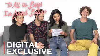 To All the Boys I've Loved Before | Cast Write Their Own Fan Fiction | Netflix