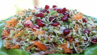 AMAZING !!! HEALTHIEST SUPER FOOD IN THE WORLD | HEALTHY SNACKS RECIPE | SPROUTS SALAD