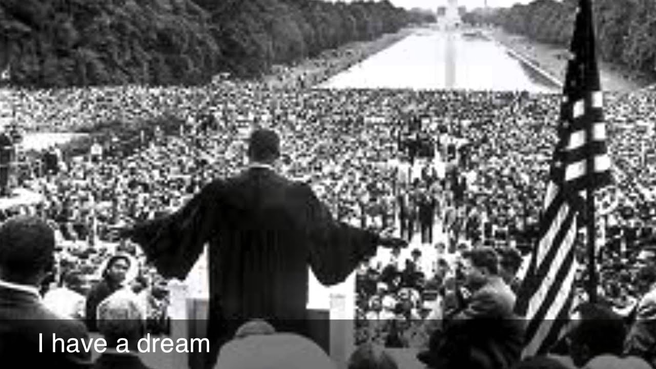 I have a dream speech date in Brisbane