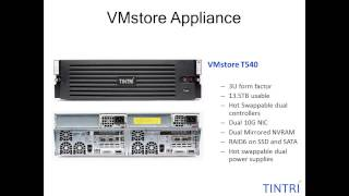 Tintri Storage for Virtual Machines - Winner VMworld 2012