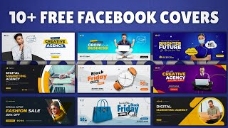 10 Facebook Cover Templates | Ultimate Pack for Facebook