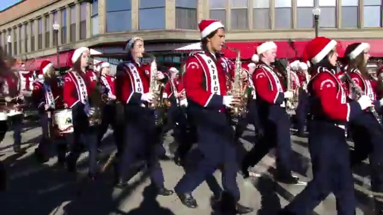 taunton christmas parade ma 2015 massachusetts part 1 a A - YouTube