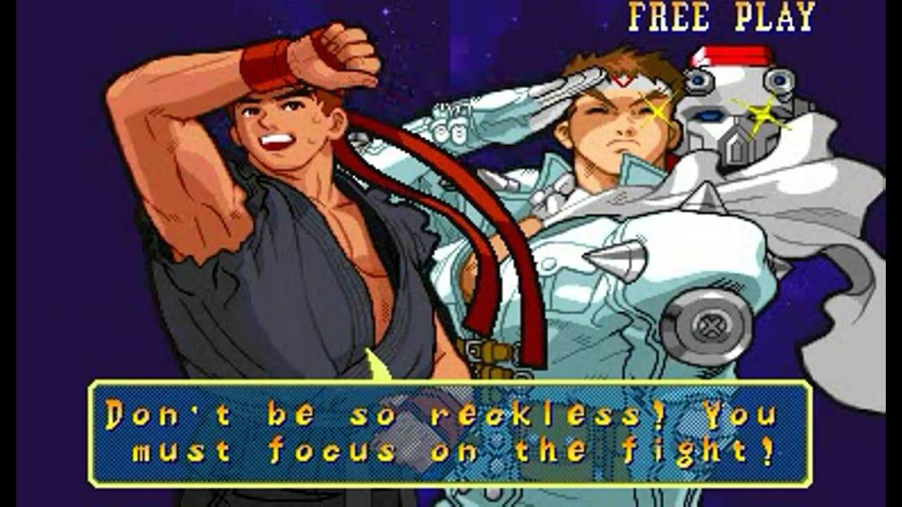 Marvel vs Capcom: Clash of Super Heroes (Arcade) - Ryu/Jin Longplay