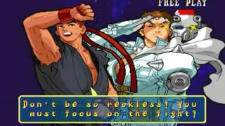 Marvel vs Capcom: Clash of Super Heroes (Arcade) - Ryu/Jin Longplay