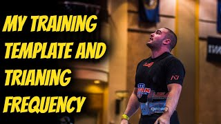 My Current Training Template and Training Frequency