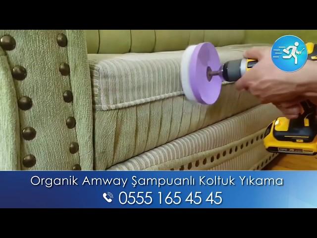 Organik Amway Şampuanlı Koltuk Yıkama