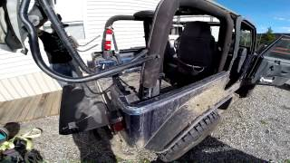 rcr how to remove hard top and install softtop on a 2003 tj wrangler