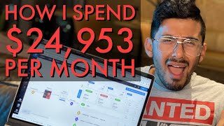 How I spend my $500,000 income