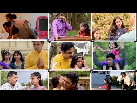 Appa I love You Pa  by dad's & daughters of Richmond USA | Anuradha Bhat | Arjun Janya |V.Nagendra P