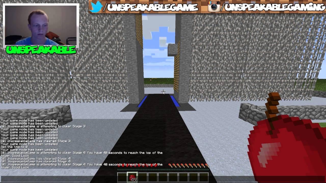 Minecraft: AMERICAN NINJA WARRIOR! | Mini-Game (Stage 4)