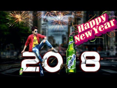 Happy New Year 2018 Picsart Photo Editing Tutorial Picsart