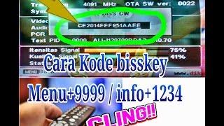 Cara simple memasukan kode bisskey pada siaran tv yang diacak 100% cling, simple,and work.