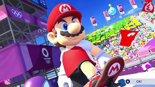 Mario & Sonic at the Olympic Games Tokyo 2020 SWITCH Gameplay Skateboarding Mario