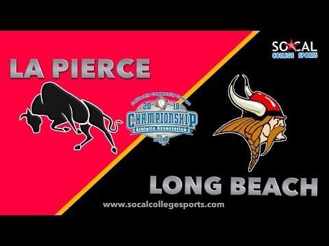 2018 CCCAA Men's Volleyball Semifinal: LA Pierce vs Long Beach City - 4/26/18 - 5pm