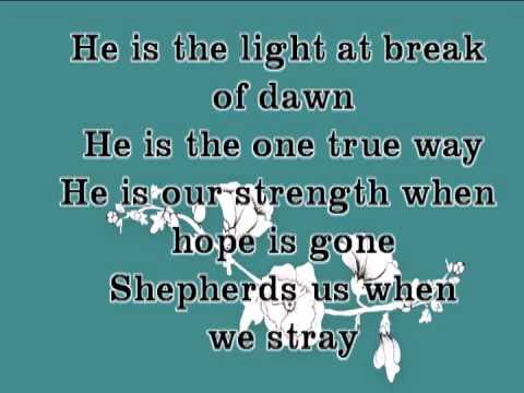 we will serve him instrumental and lyrics