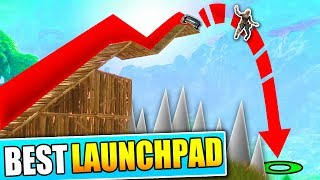 WORLDS BEST LAUNCH PAD IN FORTNITE!