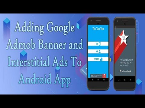 Adding Google Admob Smart Banner and Interstitial Ads to App