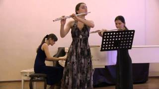 И.И. Кванц «Анданте» для двух флейт и фортепиано