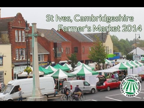 St Ives, Cambridgeshire Farmer's Market 2014