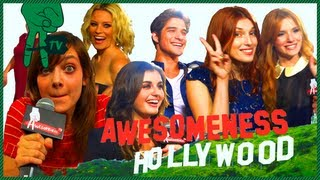 Pitch Perfect Premiere: Rebel Wilson, Rebecca Black, Bella Thorne - Awesomeness Hollywood
