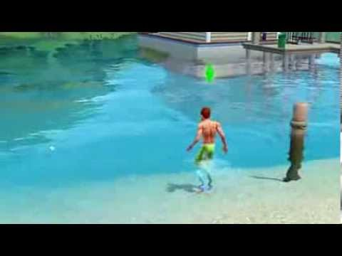 the sims 3 how to become a mermaid