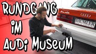 Rundgang im Audi Museum, welche Klassiker bekommen wir zu sehen? | Philipp Kaess |